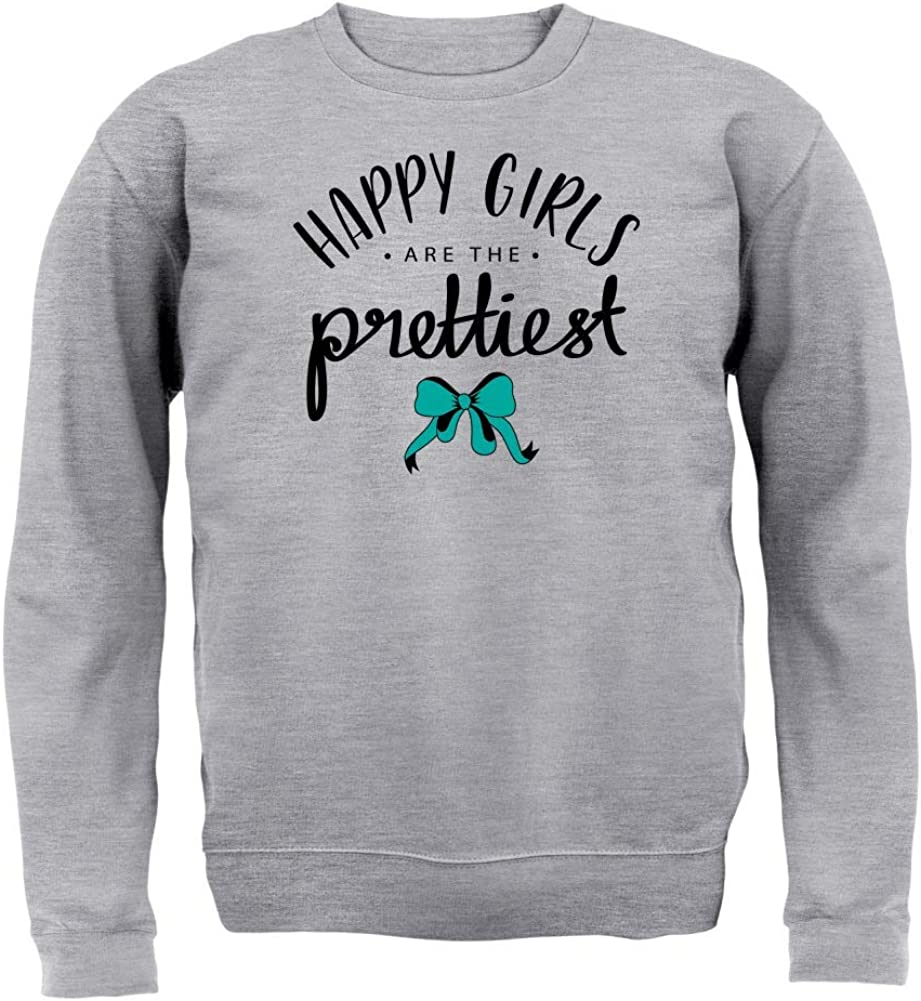 Happy Girls are The Prettiest 8 Colours Kids Jumper