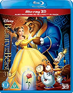 Beauty And The Beast [Blu-ray 3D + Blu-ray] [Region Free]  [UK Import]