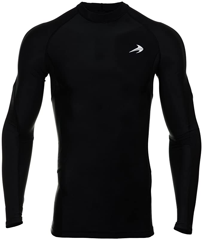 298cdf9f4712 Amazon.com  CompressionZ Men s Long Sleeve Compression Shirt - Performance  Base Layer for Fitness