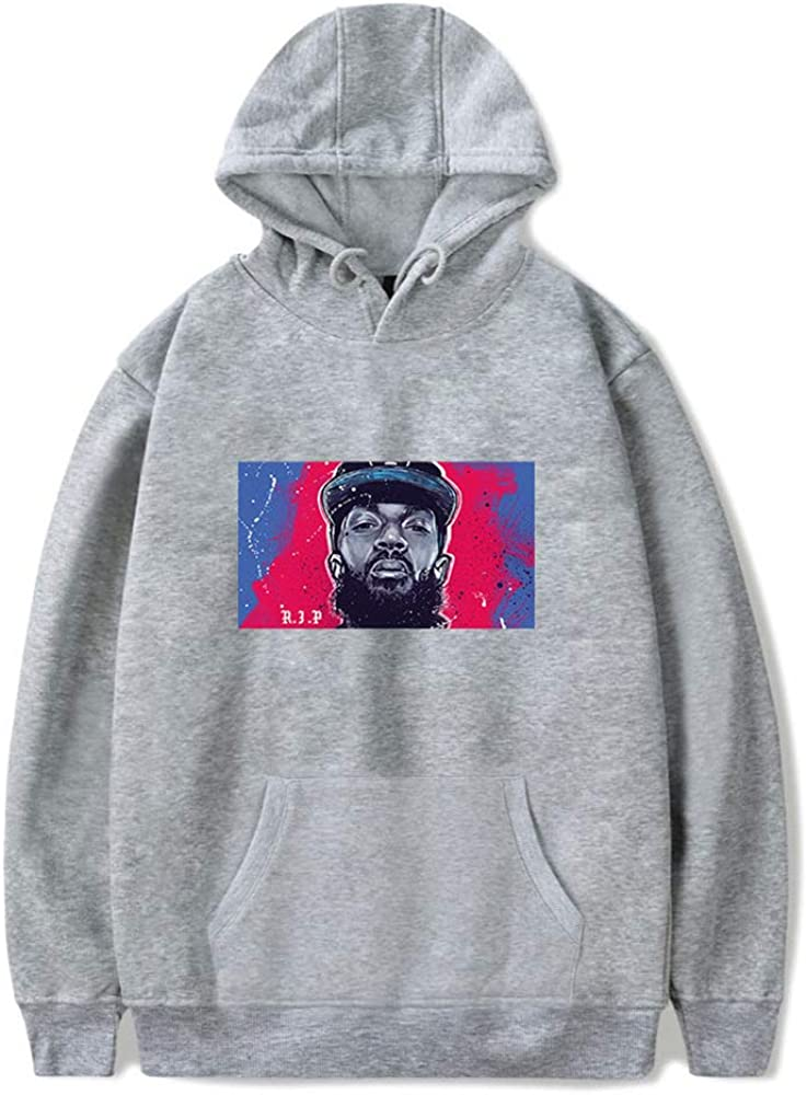 Hip Hop Rapper Crenshaw Nipsey Hussle Hoodie Pullover for Men Women Pullover Hoodie Clothing