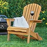 How to Make a Wooden Folding Chair Best Choice Products Foldable Wood Adirondack Chair for Patio, Yard, Deck, Outdoor - Natural Finish