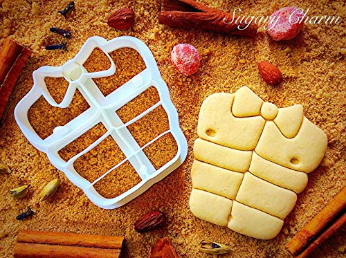 Six Pack Cookie Cutter - Sweet Sugarbelle Mini Plastic Molds for Dough - Sports 3d Shaped Biscuit Cutters - 4inch - Funny Minnie Shapes - Cookies Emboss - Dough Imprinted Mold by Sugary Charm