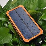 DoSHIn Solar Charger Solar Power Bank 12000mAh