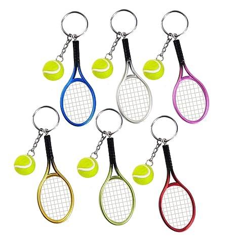 Missmore Llavero de Raqueta de Tenis Estilo Deportivo ...