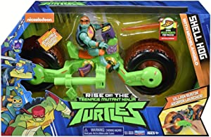 Teenage Mutant Ninja Turtles The Rise of The Vehicle with Figure - Shell Hog with Mikey