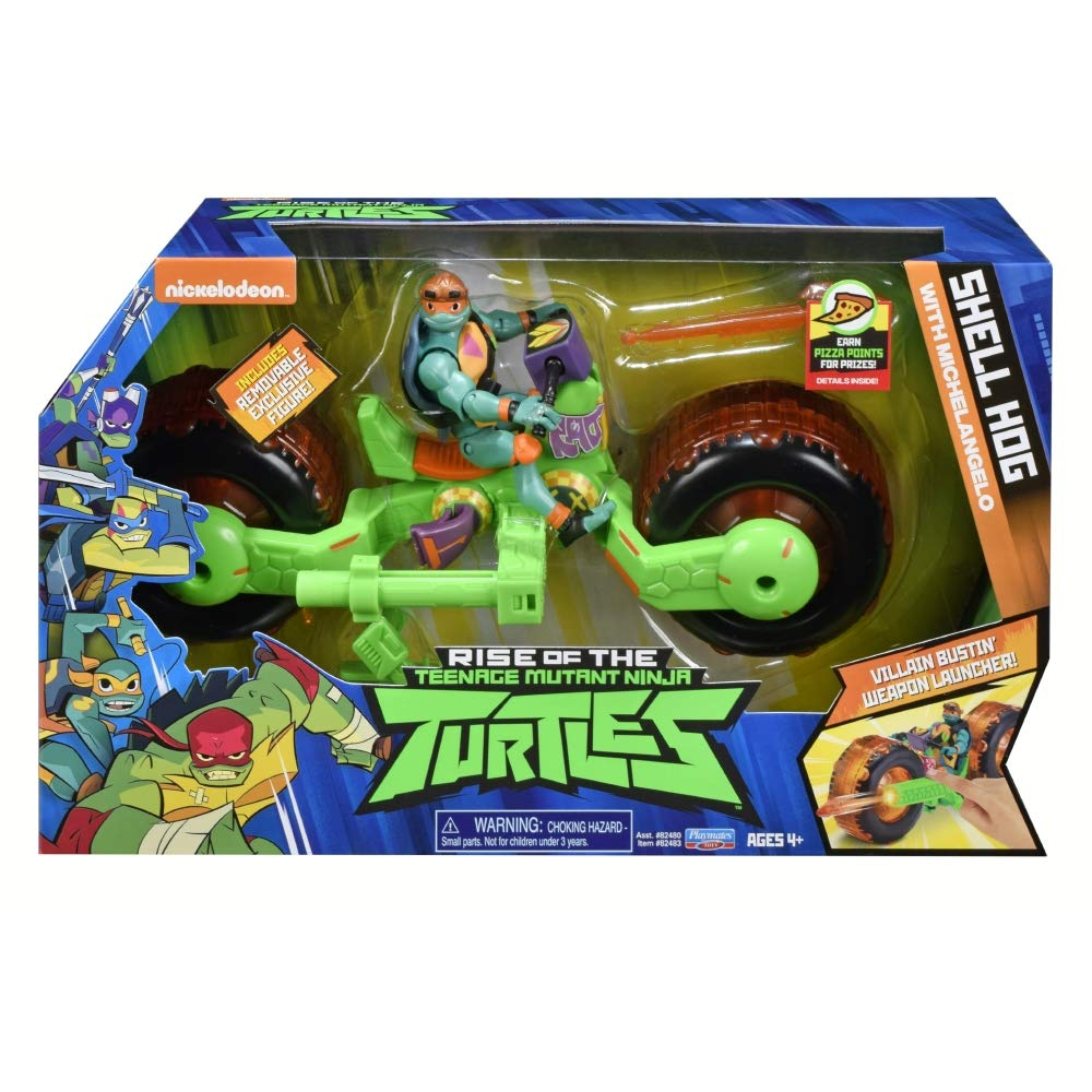 Teenage Mutant Ninja Turtles TUAB5100 The Rise Vehicle with ...