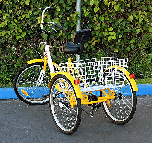 Means best three wheeled bicycle adult