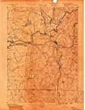 Palmer MA topo map, 1:62500 scale, 15 X 15 Minute, Historical, 1889, 20.2 x 15.8 IN - Paper