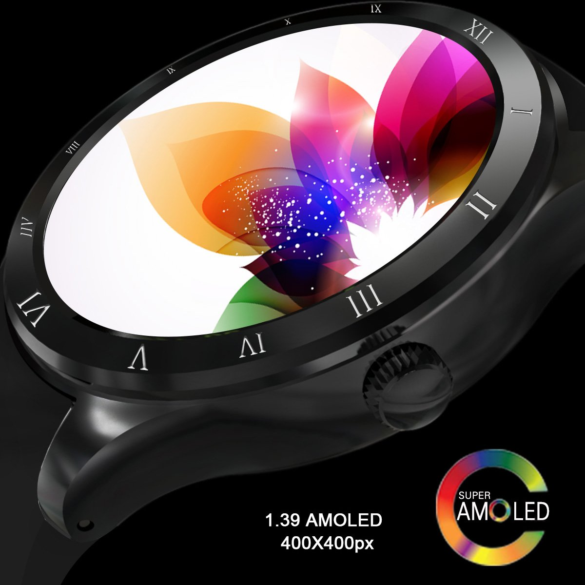 Amazon.com: Diggro DI05 Smart Watch Bluetooth MTK6580 Support WIFI GPS Microphone Speaker 3G Nano SIM Card 1.3GHZ Quad Core RAM/ROM 512MB+8GB 1.39inch ...