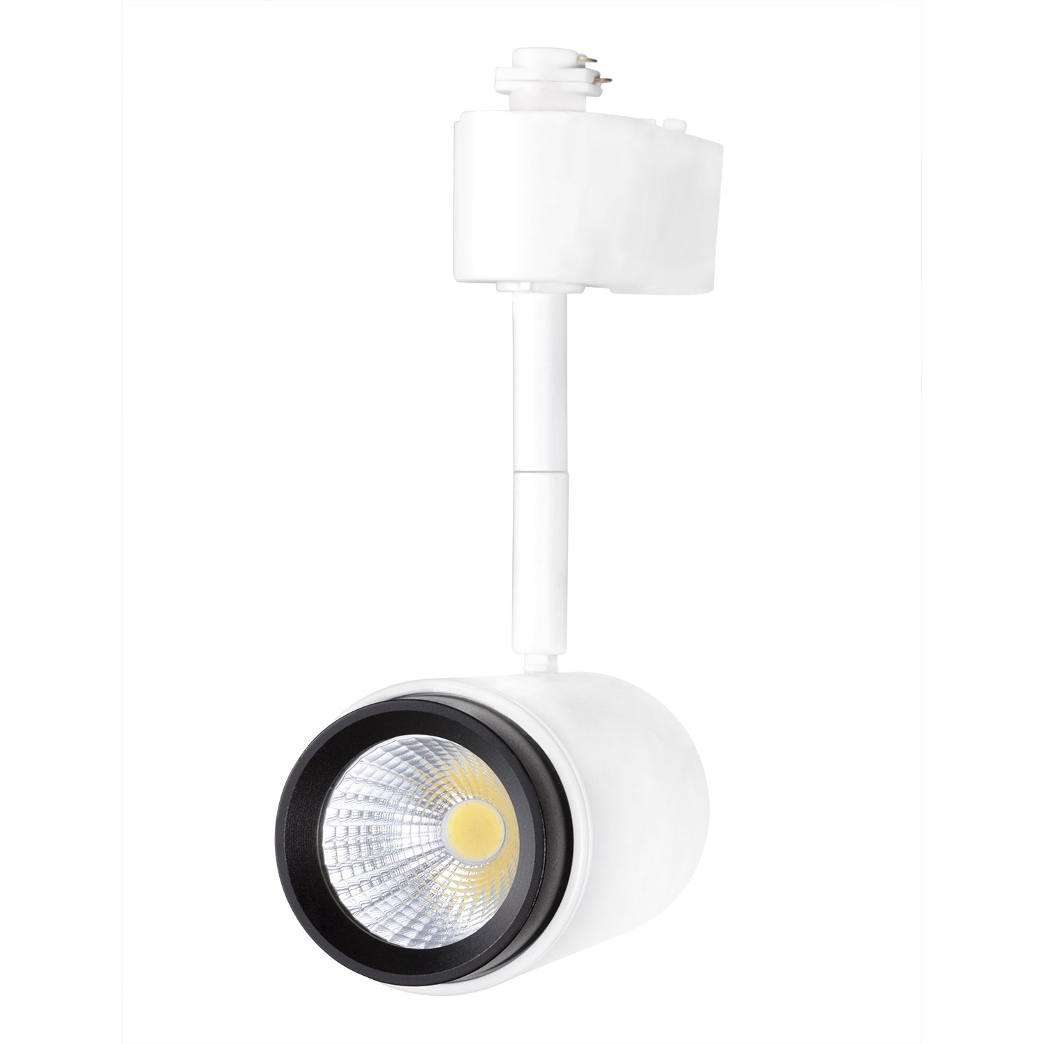 LED Track Head. 7Watt Integrated LED (50W Replacment) Warm White 3000K for Halo, Juno Track Systems