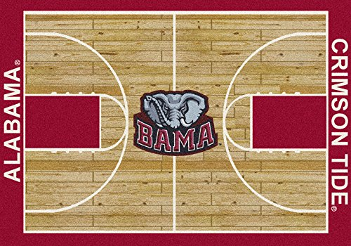 - American Floor Mats Alabama Crimson Tide NCAA College Home Court Team Area Rug 10'9