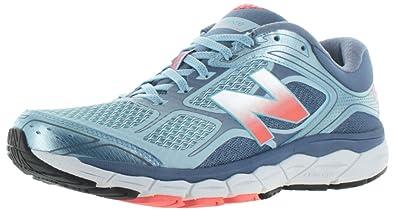 de58e83de3a New Balance W860v6 Women s Running Shoes (D Width) Blue  Amazon.co ...