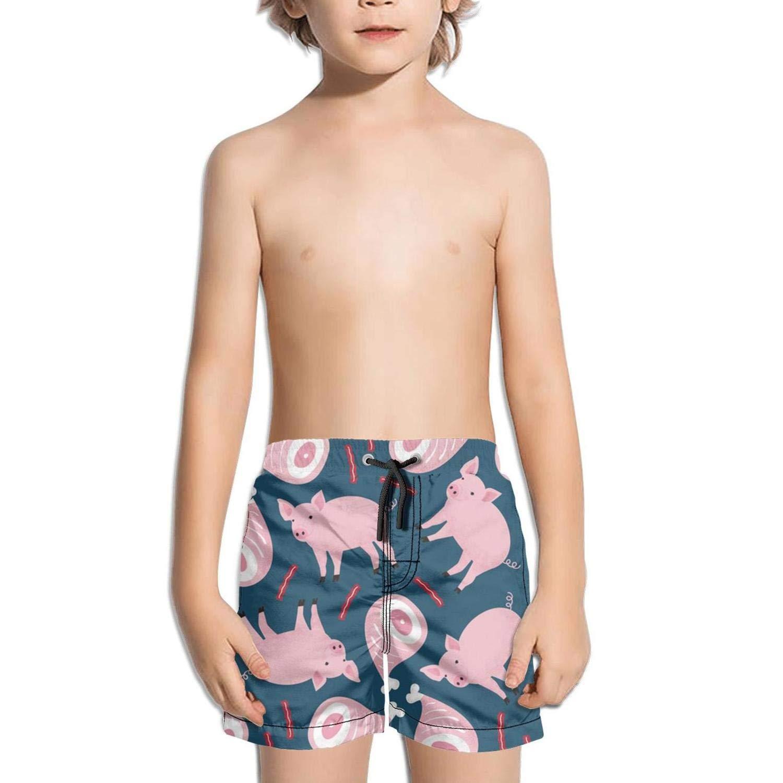 Shorts Swimming Tucks for Kid Quick Dry Solid Board Slim Fit Swimming Tucks Elastic Tropical Pigeons Egg nests