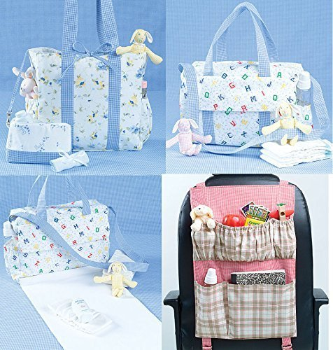 McCall's Patterns M4403 Diaper Bags and Car Organizer, One Size ()