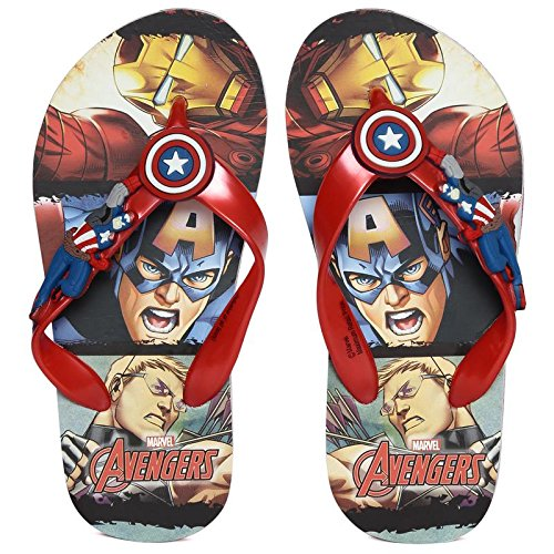 f06544976d83 Marvel Boy s Captain America Flip-Flops  Buy Online at Low Prices in ...
