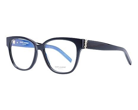 Saint Laurent Gafas anteojos SL M33 003 marco negro de ...