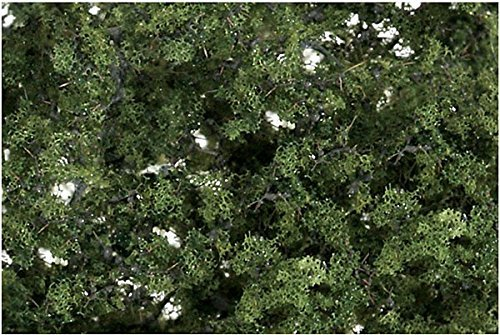 Woodland Scenics Fine Leaf Foliage, Medium Green/80 cu. in