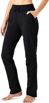 NAVISKIN Pantalones con Forro Polar para Mujer Pants Casuales ...