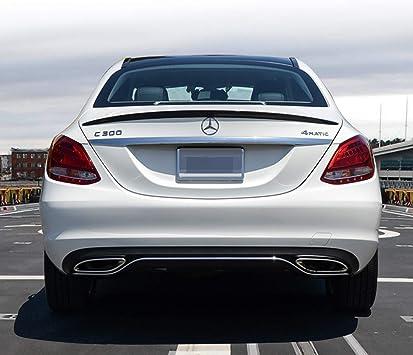 Rear Trunk Spoiler for Mercedes W205 A Type C180 C200 C250 C300 2015+