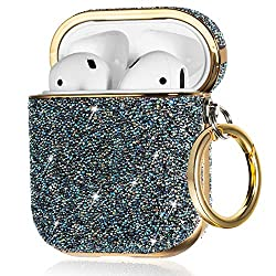 Bling Crystals Chic for Apple AirPods 2 With Keychain