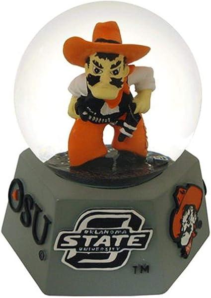 NCAA Oklahoma State Cowboys Musical Snow Globe