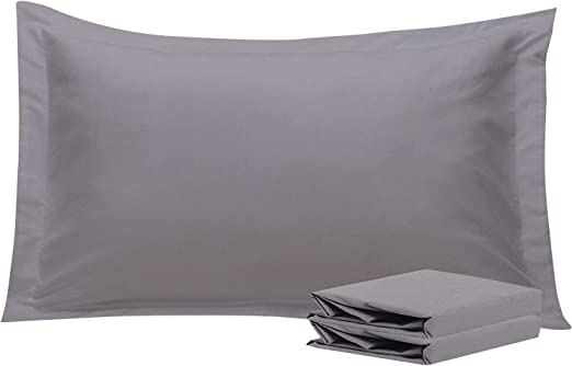 NTBAY King Pillow Shams Set of 2 100/% Brushed Microfiber Soft Cozy