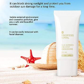 Crema Bloqueador Solar LocióN Hidratante De ProteccióN Solar Anti ...