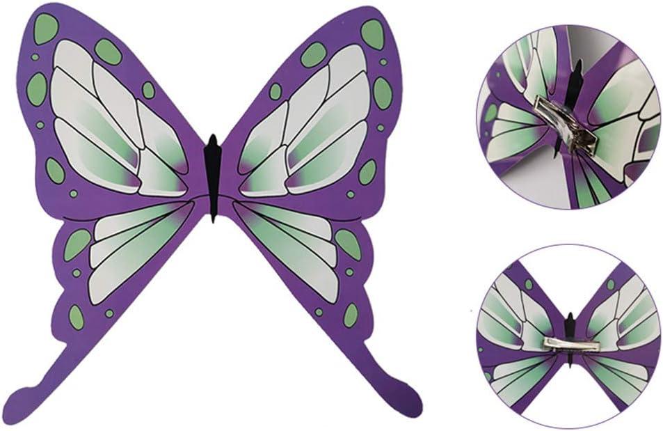 鬼滅の刃 胡蝶しのぶ きめつのやいば こちょうしのぶ 髪飾り コスプレ ヘアアクセサリー コスプレ