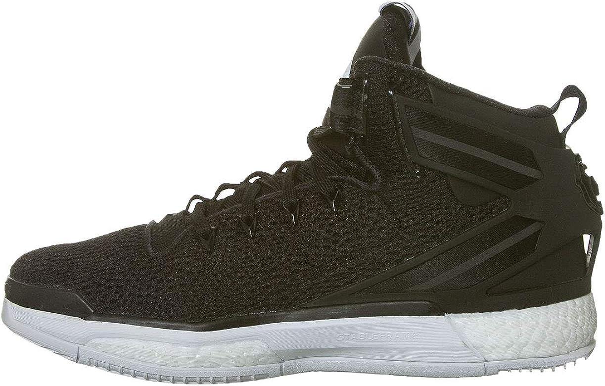 Adidas D Rose 6 Boost Hombre Zapatillas Deportivas Correr Negro/Blanco 47.5 EU: Amazon.es: Zapatos y complementos