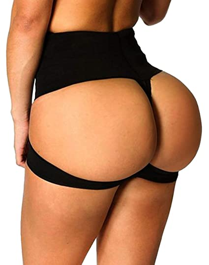 fb9b2faf8d Butt Lift Booster Booty Lifter Panty Tummy Control Body Shaper Enhancer  Shapewear Black