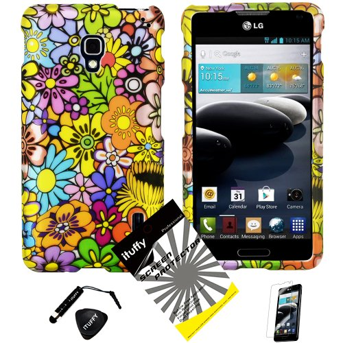 3-items-Combo-ITUFFY-TM-Mini-Stylus-Pen-Case-Opener-Design-Rubberized-Snap-on-Hard-Shell-Cover-Faceplate-Skin-Phone-Case-for-LG-Optimus-F6-D500-MS500-T-MobileMetroPCS