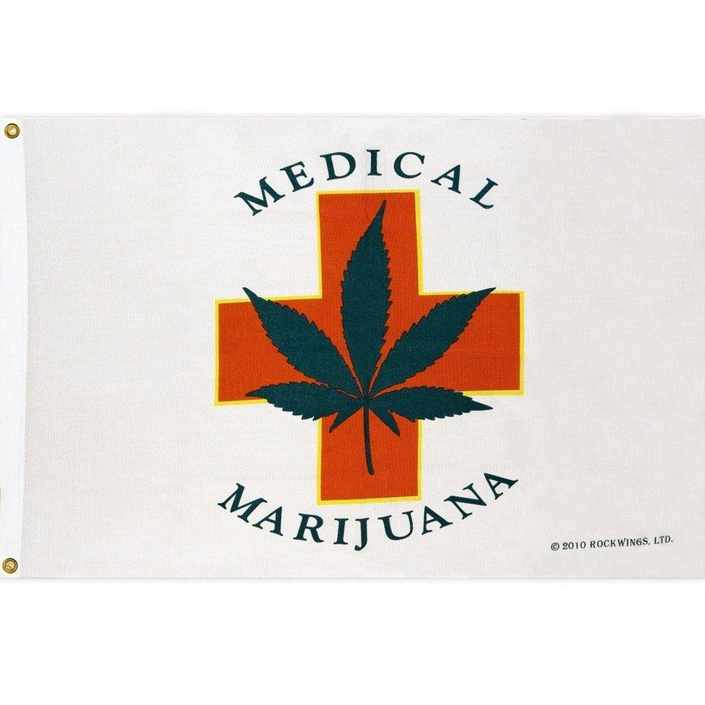 Medical Marijuana Grow Flag