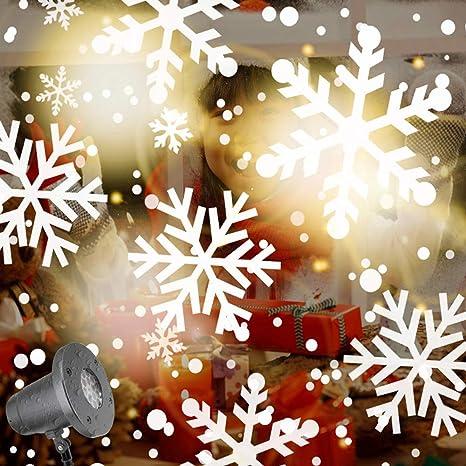SmartHitech Luces LED Para Proyector De Copo De Nieve De Navidad ...