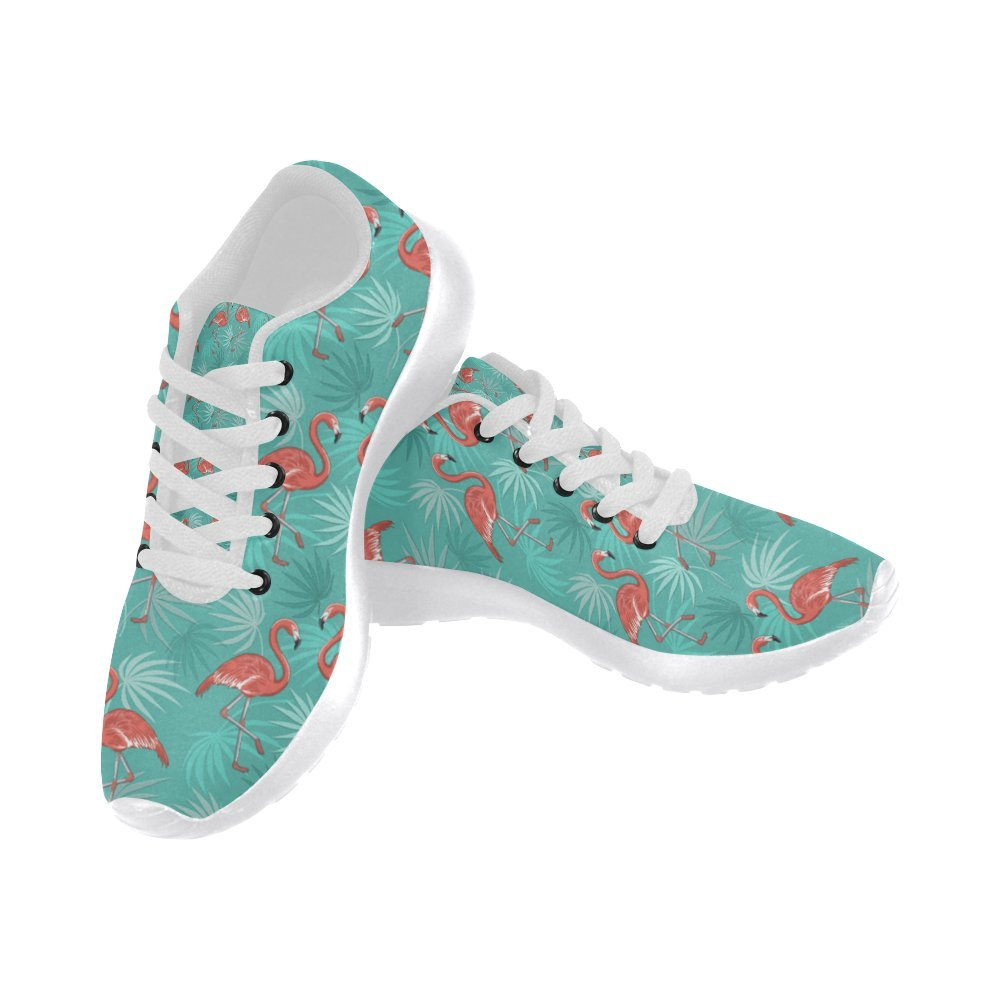 InterestPrint Women's Jogging Running Sneaker Lightweight Go Easy Walking Comfort Sports Athletic Shoes Flamingo Birds 8 B(M) US = EUR38