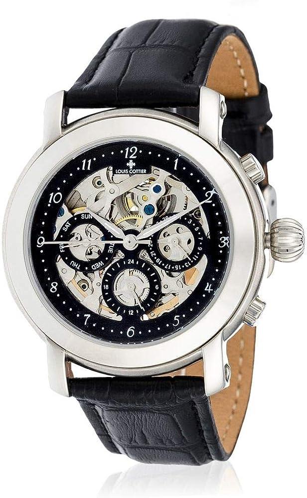 Louis Cottier Reloj automático Skeleton Lady HF3710C1BC1 42 mm