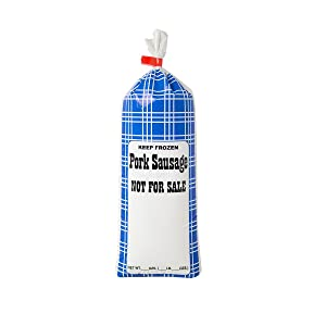 """UltraSource Pork Sausage Freezer Bags, 1 lb.""""Not For Sale"""" (Pack of 1000)"""