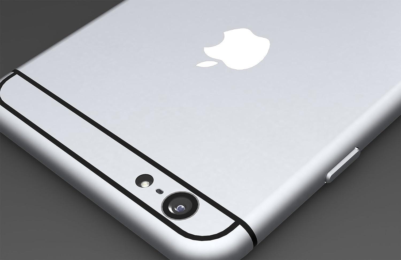 Amazon com white apple logo color changer vinyl sticker decal iphone 6plus5s5c cell phones accessories