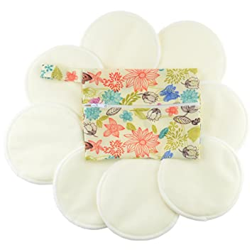 Organic breast pads