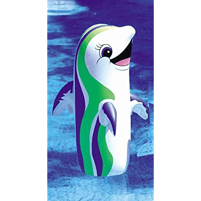 "36"" Inflatable Dancing Dolphin: Toys & Games"