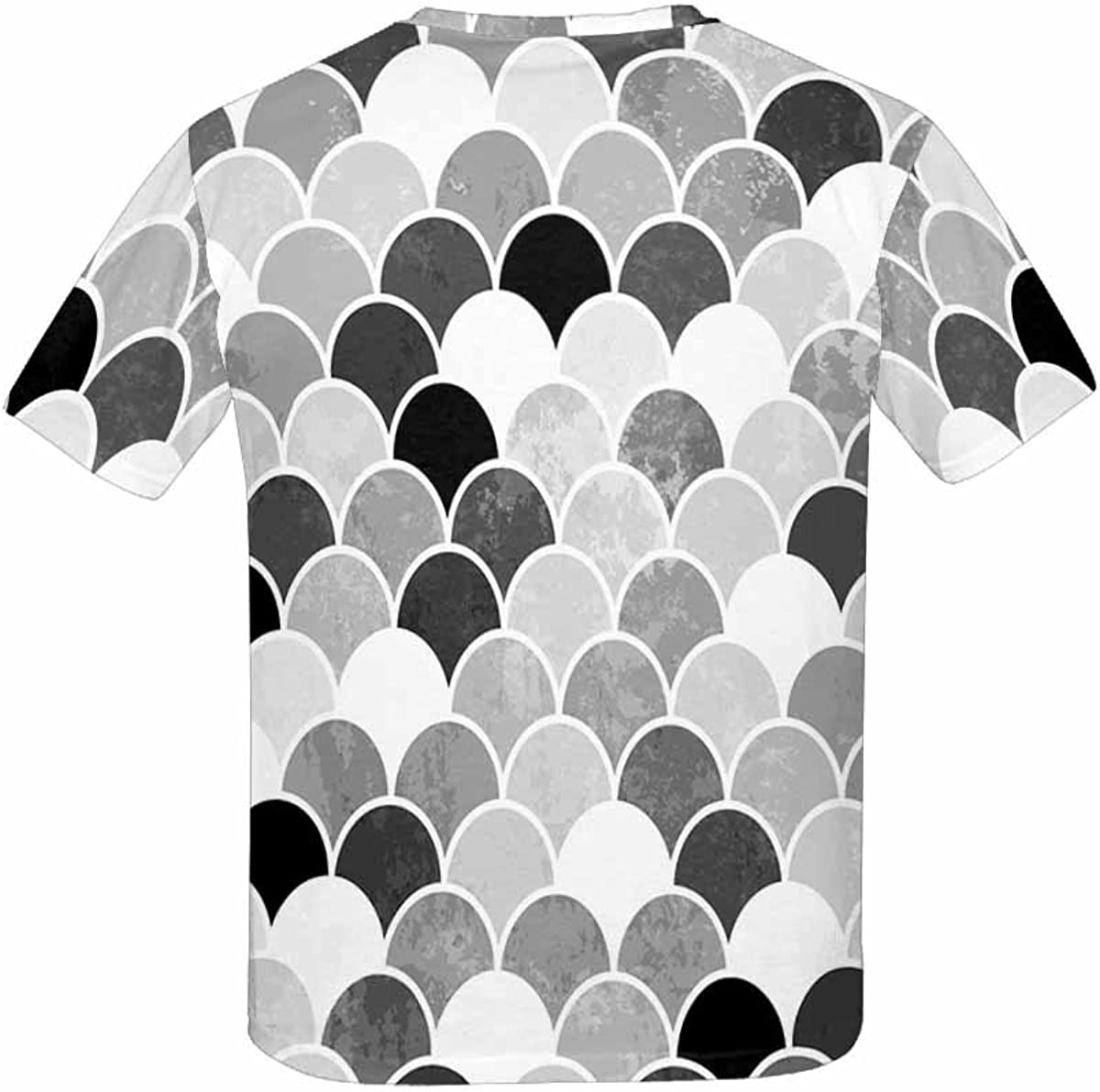 XS-XL INTERESTPRINT Childs T-Shirt Fish Scales