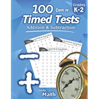 Humble Math - 100 Days of Timed Tests: Addition and Subtraction: Ages 5-8, Math Drills, Digits 0-20, Reproducible…