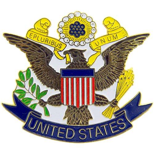 (USA Seal Pin Commemorative Collectibles, Patriotic Insignia Gifts)