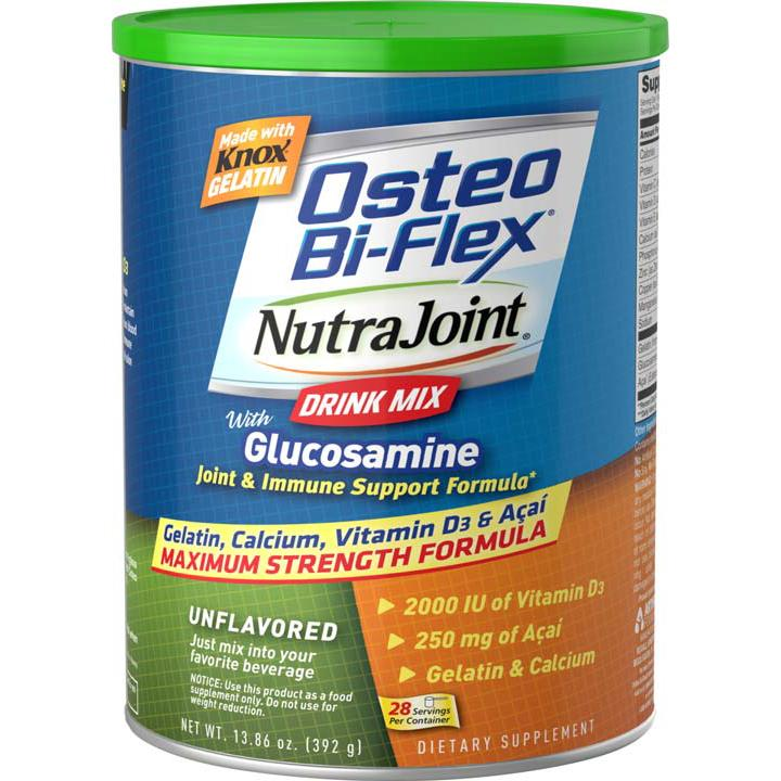 Osteo Bi Flex Nutrajoint Plus Glucosamine Drink Mix