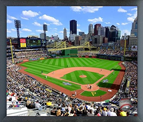 Pnc Park Pittsburgh Pirates Mlb Stadium Photo  Size  17  X 21   Framed
