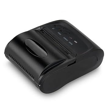 Excelvan - 58mm Impresora Térmica Inalámbrica de Recibos / Tickets ...