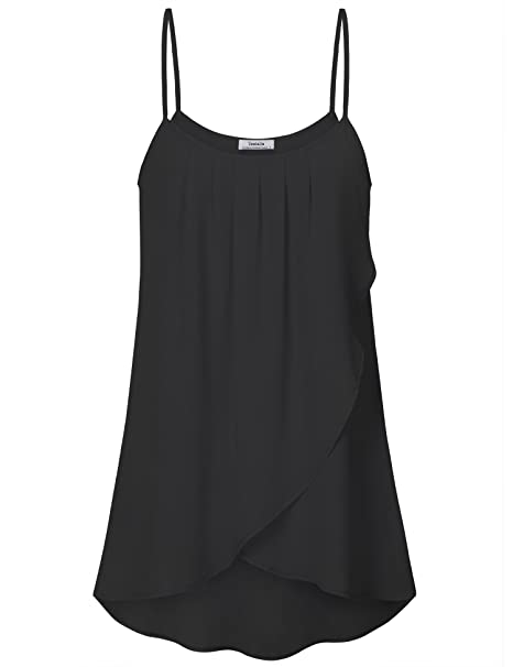 f20510d6f5769 Youtalia Women s Summer Cool Casual Sleeveless Pleated Layered ...
