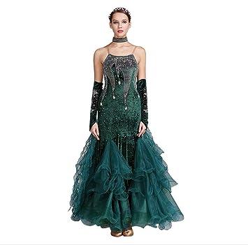 Z X Modern Ballroom Dance Dress For Competition Waltz Tango Clothes