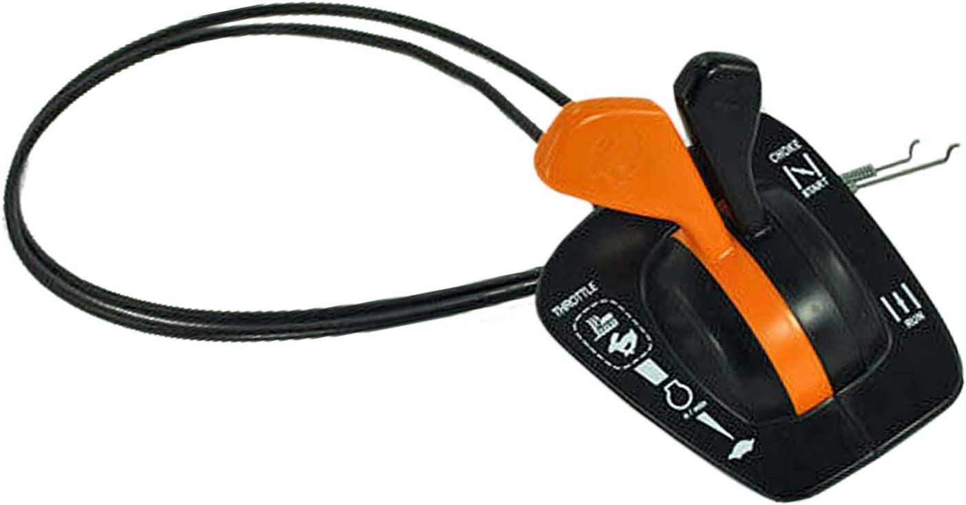 Autu Parts GY20948 Throttle Choke Gas Cable Control for John Deere Fits Model 125 135 145 155C 190C LA120 LA130 LA140 LA150 X140 LA135 LA145 LA155 LA165 LA175