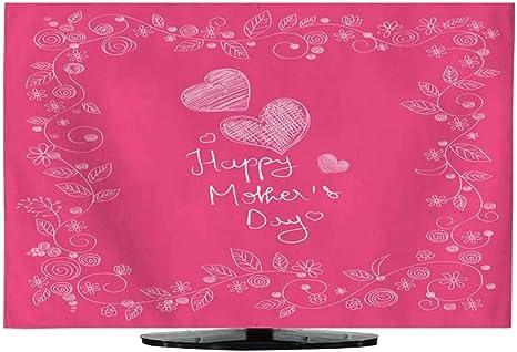 TV Cover Happy Mother s Day Celebration - Dibujo Digital de Mano (76,2 cm): Amazon.es: Electrónica