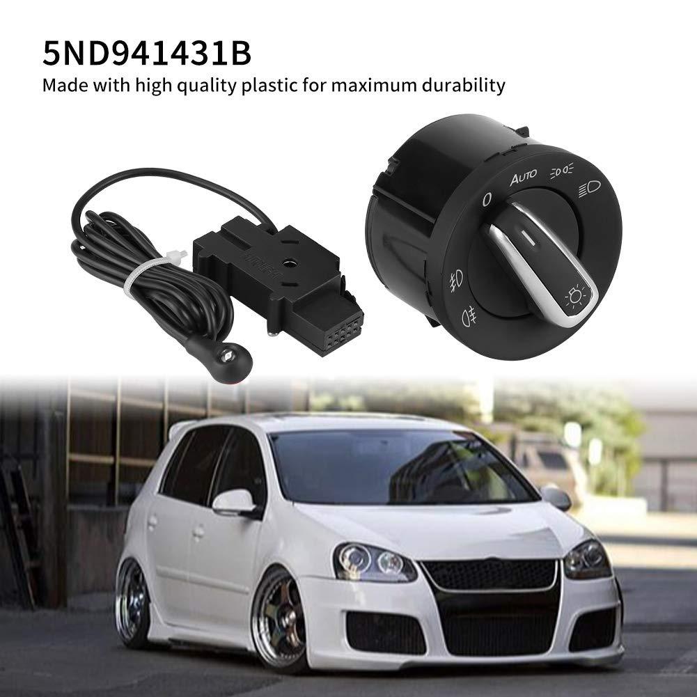 Headlamp Switch Light Sensor Module for Golfs Jettas MK5 MK6 Passats B6 3C Car Headlight Switch Control